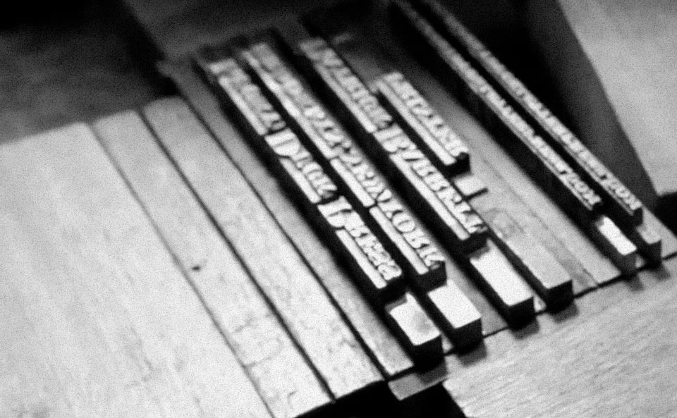 A Letterpress Legacy with Lucky Duck Press