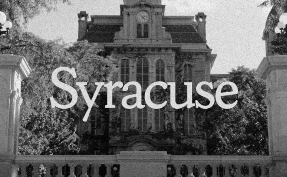 Goudy and Syracuse University