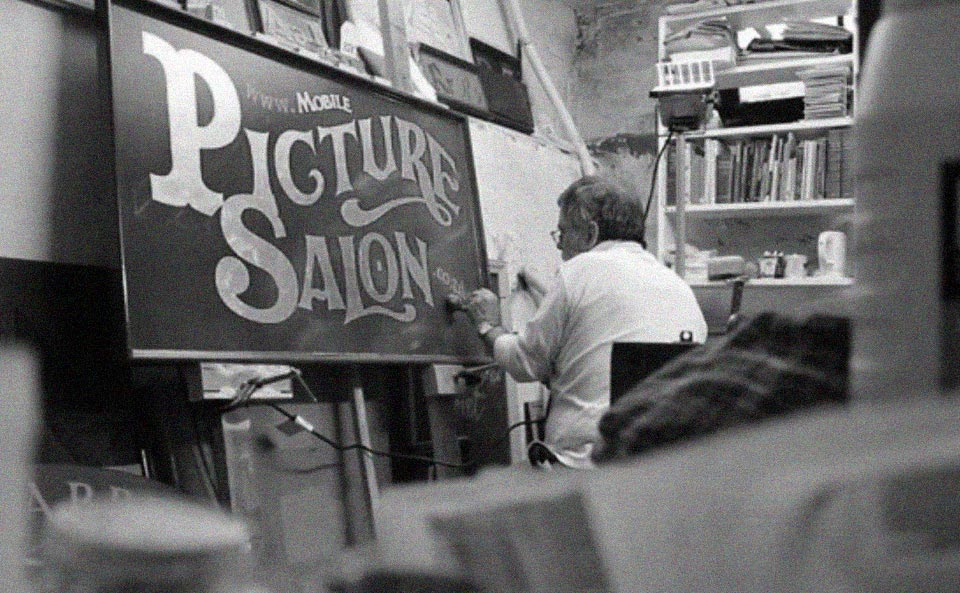 Robin Abbey - Signwriter